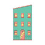 Downtown Building Icon