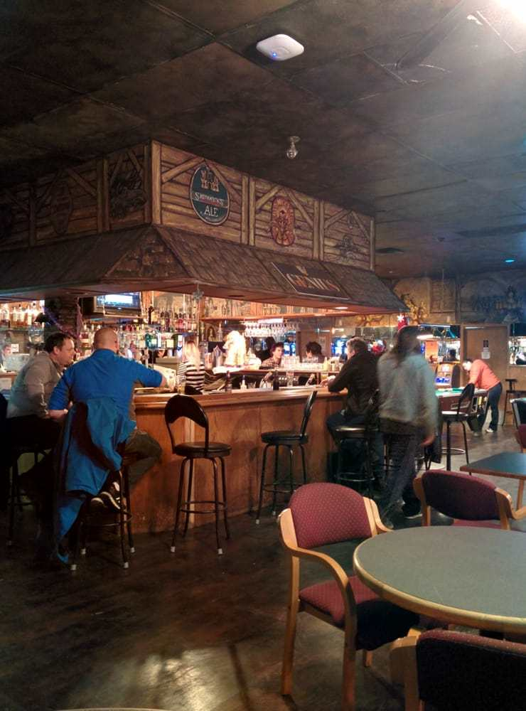 Loco's Lounge Bar Table