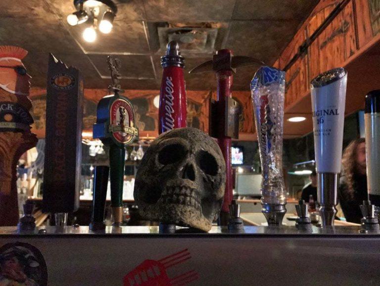 Loco's Lounge Pub Skull