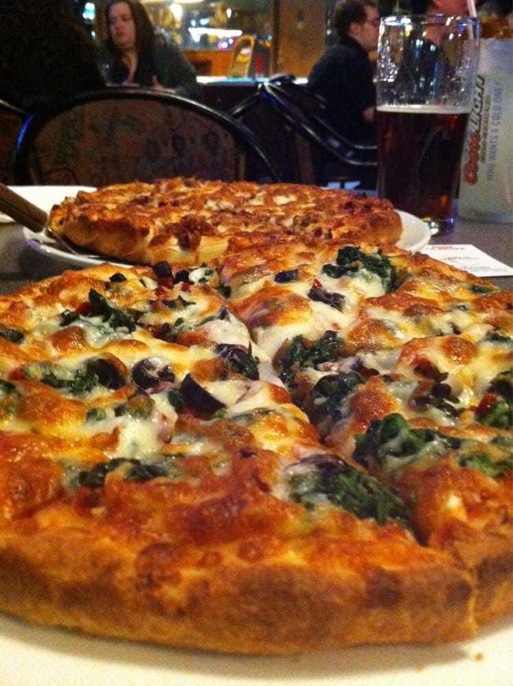 Loco's Lounge Olive Pizza